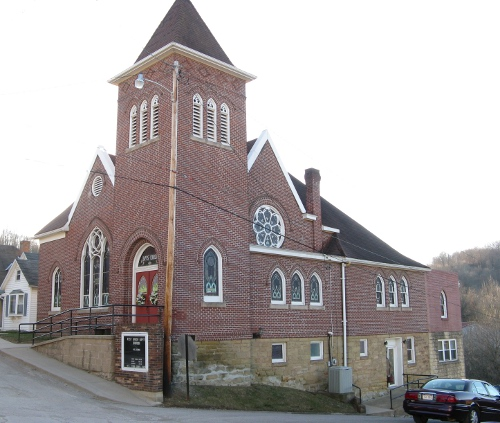 West Union Baptist Church in West Union, West Virginia